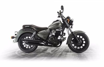 Keeway Superlight 125cc 'Custom' Custom Cruiser Petrol Black at C & A Superbikes Kings Lynn