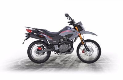 Keeway TX125 TX125 Enduro Enduro Bike Petrol Grey at C & A Superbikes Kings Lynn