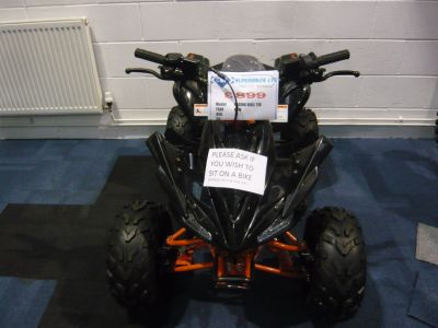 Stomp Ace Quad/ATV Petrol Black at C & A Superbikes Kings Lynn