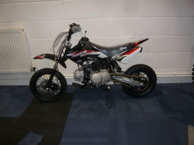 Stomp Juice Box Motocrosser Petrol Black at C & A Superbikes Kings Lynn